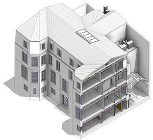Le BIM - maquette numérique dans le space planning