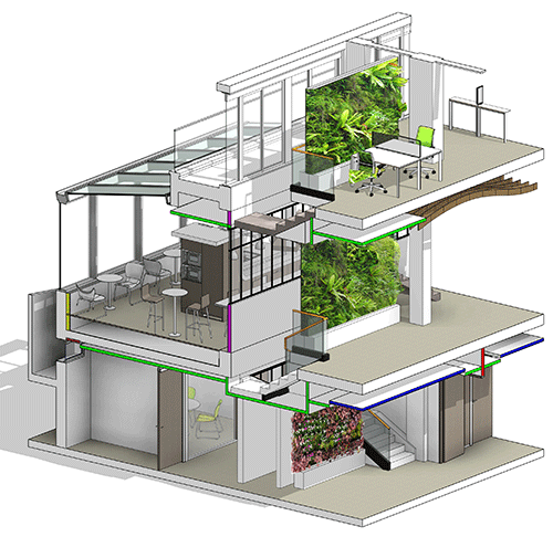 L'aménagement de bureaux en cloisons amovibles