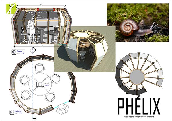 Phelix : un modèle biophilique