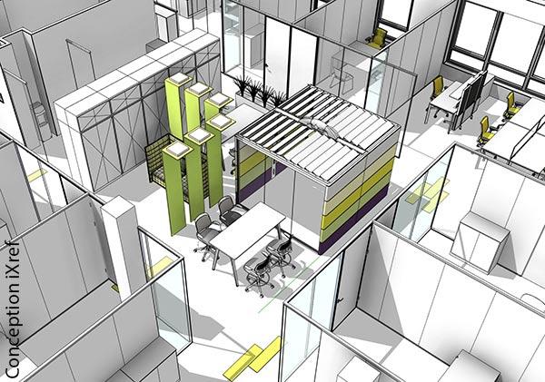 Space planning, qualification des aménagements de bureau et optimisation des surfaces