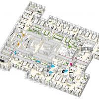 Space planning (150 postes de travail). 100% ouverts